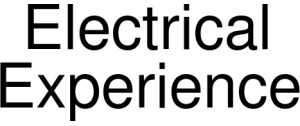 Electrical Experience Vouchers