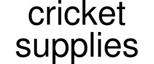 Cricket Supplies Vouchers