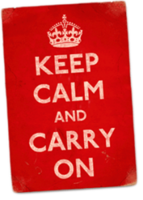 Keep Calm and Carry on Vouchers